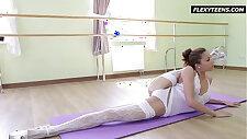 Inrcedibly molten gymnast Inessa
