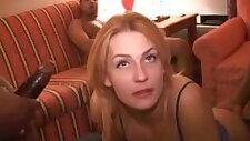 Dirty hot wifes gets rammed hard breeding creampie gangbang