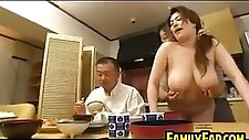 Thick Asian Step Mother