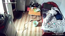 Hackers use the camera to remote monitoring of a lover\'s home life.43