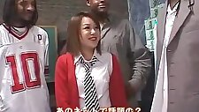 Fabulous Japanese chick Rui Natsukawa in Amazing Small Tits, Interracial JAV video