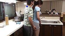 Chiori Taken In The Kitchen