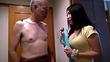 3 girls big boobs party with shigeo tokuda and friends :D