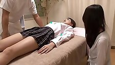 japanese school girl massage