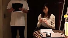 Luscious Japanese babe has a masseur satisfying her needs