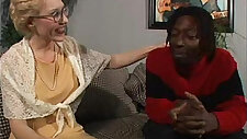 Hot white mature takes Byrons bbc in her ass.