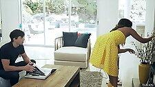 Alex Davis  Tiffany Watson  Leia in Birthday Surprise - BabesNetwork