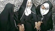 Beautiful nun turned out to be a shemale