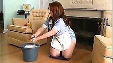 chubby maid for hot sex