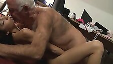 Romanian maid fucking with her old boss