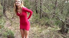 Teenage Blonde Naked Outdoor