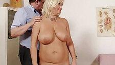 Natural tits Milf vagina gyno exam
